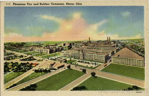 Firestone Tire And Rubber Company Stock by Firestone Tire And Rubber Company Akron Oh