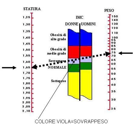 test peso ideale sei in sovrappeso scopri come calcolare il tuo peso forma