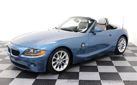 bmw convertible used 2003 used bmw z4 2 5i sport package 5 speed convertible at