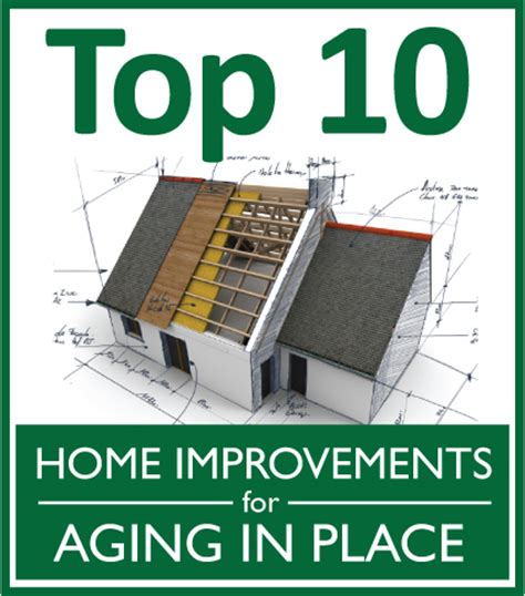 top 10 home improvements for aging in place design