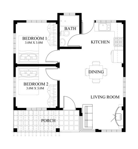 how to make a house floor plan 40 small house images designs with free floor plans lay out and estimated cost