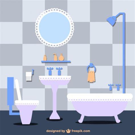 cartoon pictures of bathrooms bathroom vector illustration vector free download