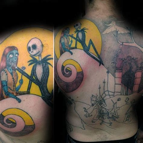 tattoo nightmares you ve got male jack and sally tattoos tattoo collections