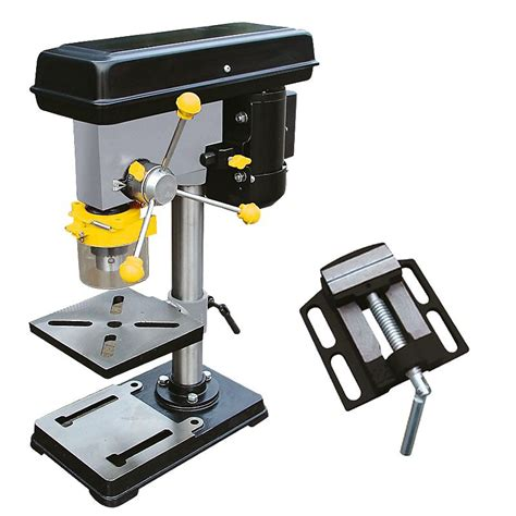 screwfix bench vice titan ttb556dbt 115mm pillar drill 240v