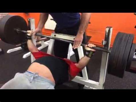 200kg bench press 2 5x 200kg bench press with slingshot youtube