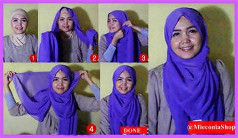 tutorial kerudung pashmina simple tanpa ninja hijabers tutorial sakinah hijab tutorial snail turban