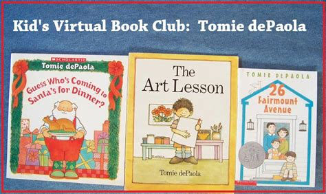 in our stories books november book club tomie depaola edventures with