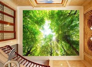 custom size large mural ceiling wallpaper 3d stereoscopic custom any size 3d wall mural wallpapers beautiful scenery