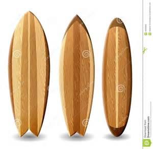 planche de surf bois planches de surf en bois illustration stock image 40693836