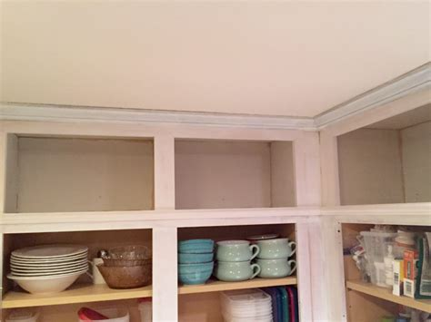 extending the cabinets to the ceiling kitchen makeover