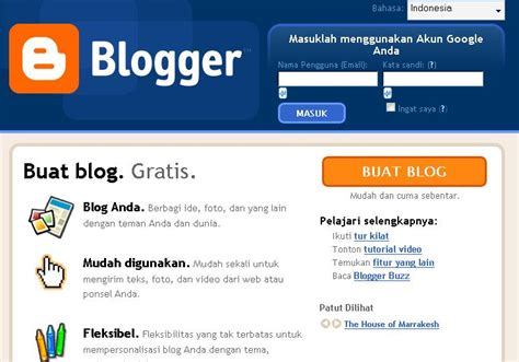 Cara Membuat Blog Gratis Marketing | cara membuat blog gratis babastudio kursus web