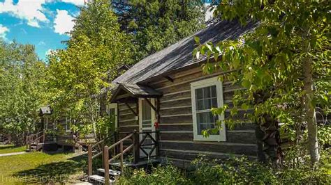 Glacier National Park Cabin by A Visit To Glacier National Park In Montana