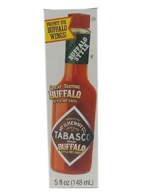 tabasco 174 brand buffalo style hot sauce