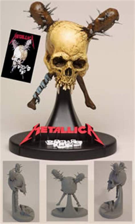 Metallica Statue Damage Inc Figure Metallica Damage Inc Statue Stevenson Entertainment