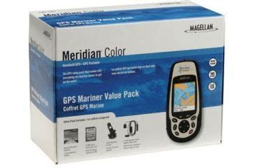 Gps For Mariners magellan portable gps receiver meridian color mariner