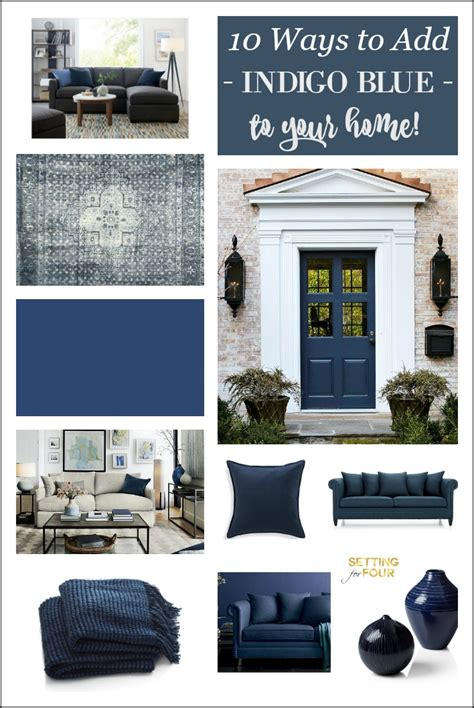 indigo home decor indigo blue 10 amazing ways to add this color to your