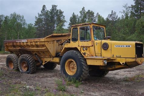 volvo rock trucks volvo bm 860s rigid dumper rock truck from for