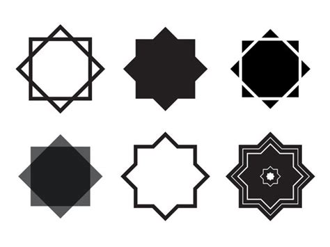 islamic pattern vector ai islamic star vector free vector 365psd com