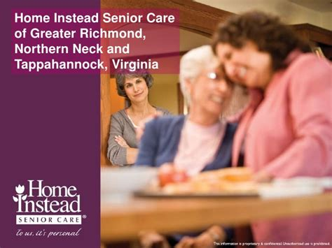 home instead senior care of richmond va overview