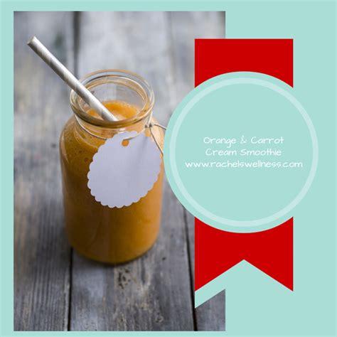 Kefir Detox Reaction by Orange Carrot Smoothie With Coconut Milk Kefir