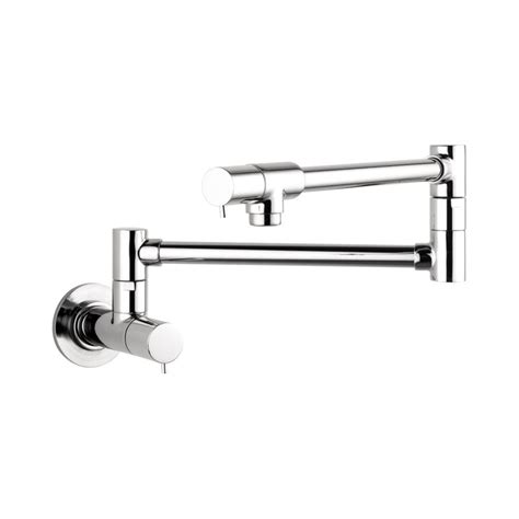Hansgrohe 04057000 Chrome Talis S Wall Mounted Double Jointed Pot Filler   Includes Lifetime