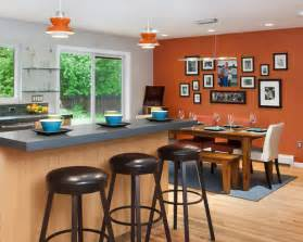 Burnt orange accent wall ideas pictures remodel and decor