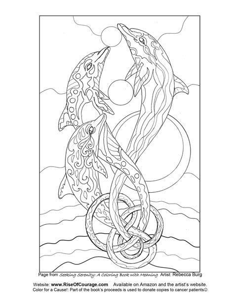 coloring pages for adults dolphins free coloring page dolphin ocean sea life from the seeking