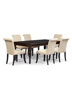 Macys Dining Table Set Bradford 9 Dining Room Furniture Set With Upholstered Chairs Furniture Macy S