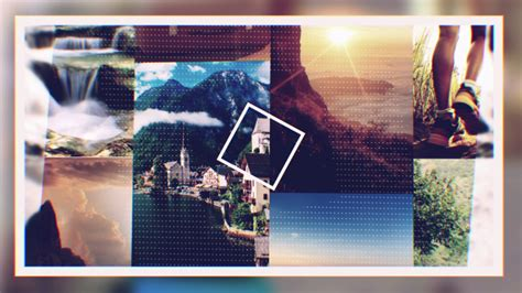 Staple Collage Logo Reveal After Effects Template Collage After Effects Template Free