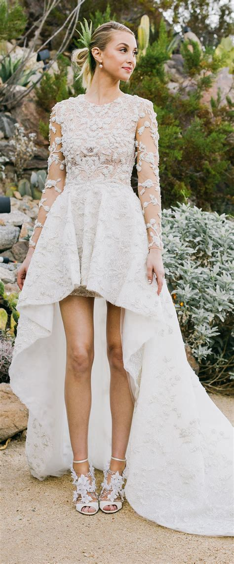 whitney ports wedding gown    youd expect