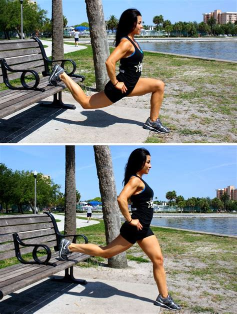 bench lunges 1000 images about dyi workout bench on pinterest