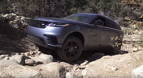 land rover range rover road posh 2018 range rover velar goes roading to prove it s
