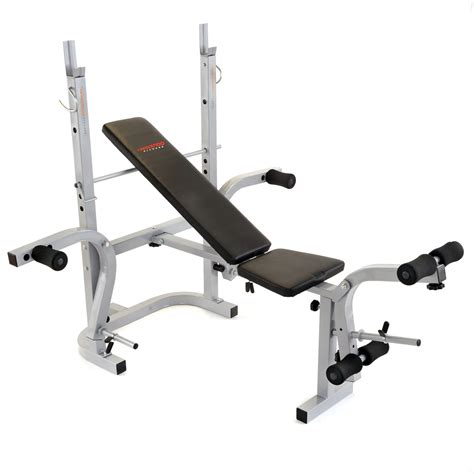 kmart bench press crescendo fitness folding weight lifting bench fitness