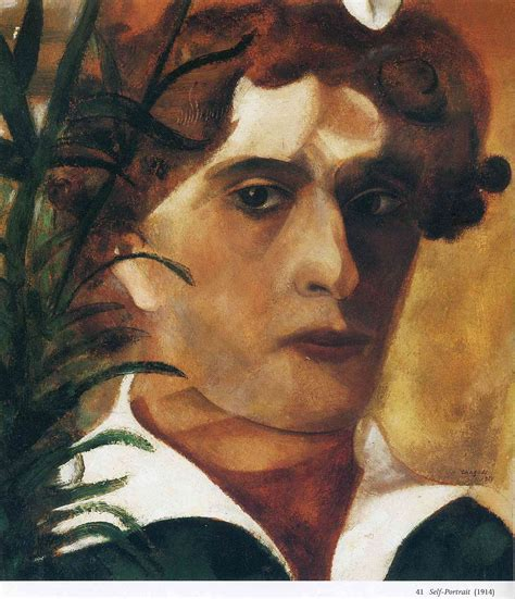 biography of a con artist self portrait 1914 marc chagall wikiart org