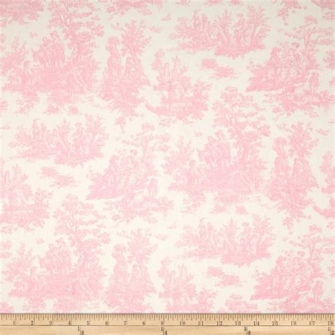 pattern fabric pink premier prints jamestown toile baby pink discount