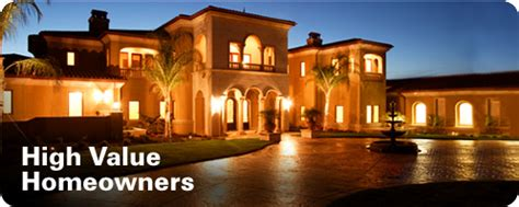 high value homeowners insurance client in ny nj ca