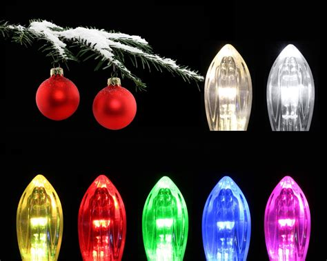 20 clip on fairy lights christmas tree candles xmas led