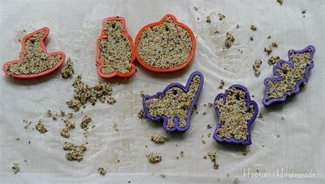 DIY Fall Craft: Bird Seed Ornaments   Hoosier Homemade