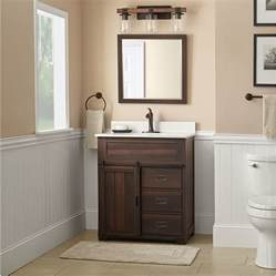 Lowes Farmhouse Vanity Lowes 199 Style Selections Morriston Barndoor Farmhouse