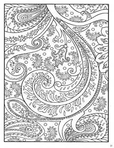 coloring designs paisley coloring pages only coloring pages