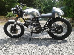 1973 honda cb350f troubled past by cold hearted custom custom motorcycle builder cold hearted custom cycles nj