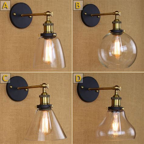 retro bathroom light bar vintage wall ls e27 edison wall sconce bathroom bar