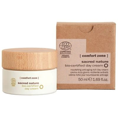 comfort zone face products sacred nature day cream tester