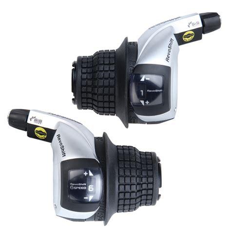 Shifter 6 Speed Shimano Revo shimano revo sl rs45 6 sp shifter set mtb shifters ebay