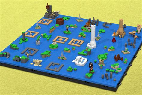 legend of zelda wind waker map lego wind waker map will have you busy through new year s