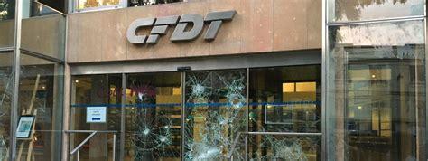 info francetv info le si 232 ge de la cfdt vandalis 233 224
