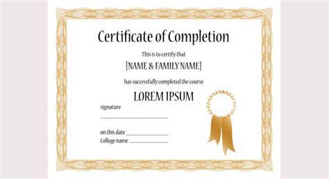 certificate ai template 50 printable certificate templates free psd ai vector