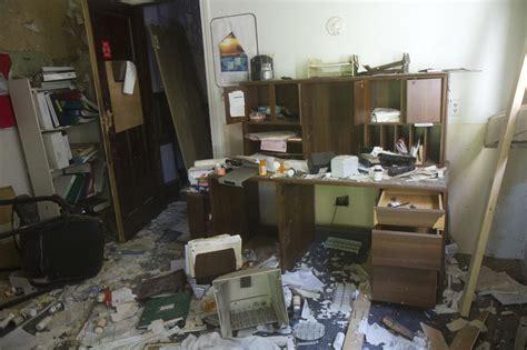 biohazards records languish in abandoned detroit