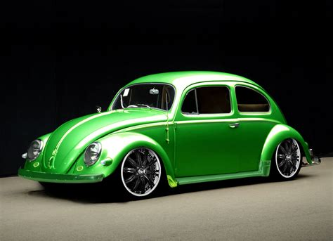 Pipit Hermanto Green Volkswagen Bug Beetle