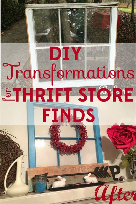 top 11 ideas about thrift store finds and diy on